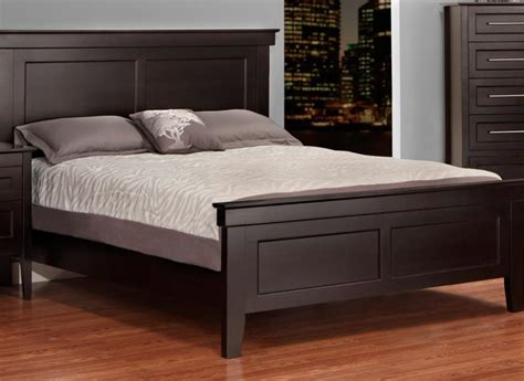bed footboard stockholm queen bed with low footboard handstone