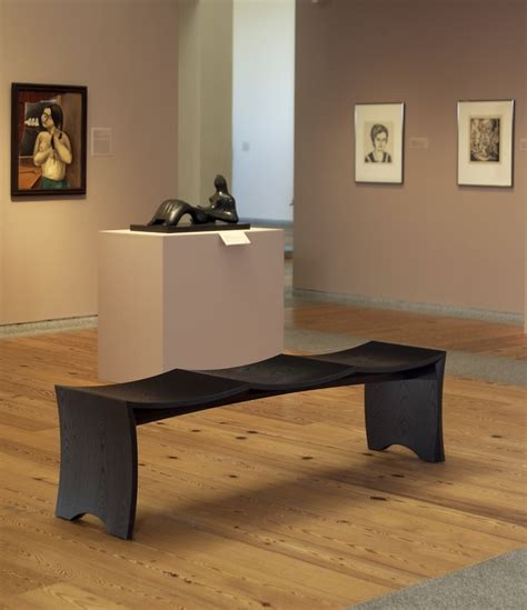 museum benches museum bench for 3 gallery seating pinterest benches