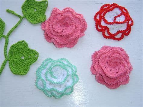 como hacer flores de crochet como tejer flor a crochet paso a paso youtube