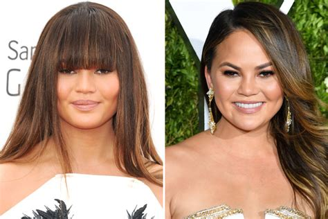 bangs before and after celebrity bangs before and after pictures instyle com