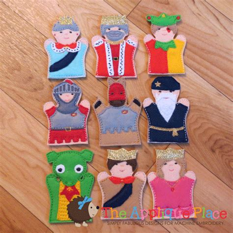 puppet only one you 1579822533 puppet set castle finger puppets only