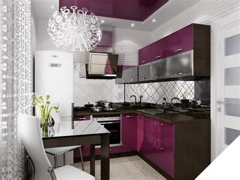 2017 kitchen interior design trends theydesign net interior design trends 2017 purple kitchen