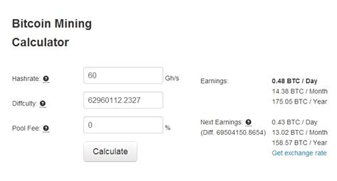 bitcoin profit calculator bitcoin mining calculator and profit calculator bitcoin