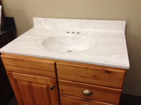 Vanity With Marble Top by Cultured Marble Vanity Top On Clearance Now At Seigles Seigles Cabinet Center