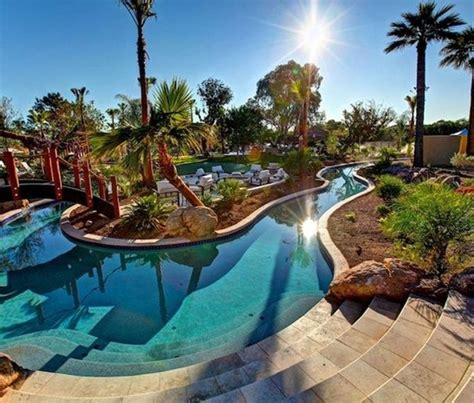Lazy River Backyard Pool Ideas Fashion Furniture Pinterest Lazy River Pools For Your Backyard