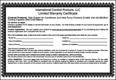 Guarantee Certificate Letter Warranty Certificate Template Word Sle Templates