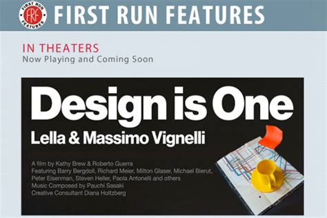 design is one film uncategorized design is one lella massimo vignelli