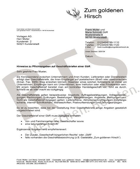 Musterbrief Vorlage Geschäftsbrief Briefvorlagen Gesch 228 Ftsbriefe Briefpapier