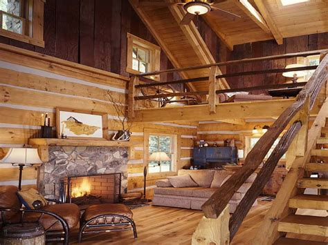 Small Log Home Interiors Small Log Cabin Interior Ideas Small Log Cabin Decorating Ideas Log Cabin With Loft Mexzhouse