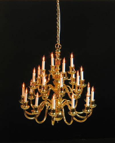 dolls house chandelier dolls house chandelier 24 arm in 3 layers yl8015 only