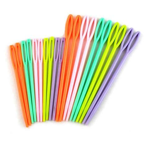 knitting needles plastic top quality 12pcs set plastic diy knitting needles seam