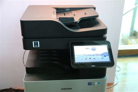 Printer Samsung Android samsung introduces line of android powered multifunction