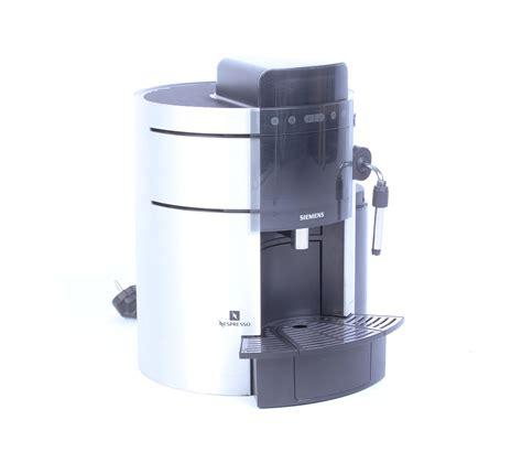 Siemens Porsche Design Kaffeemaschine by Siemens Tk911 N2 Nespresso Maschine Porsche Design