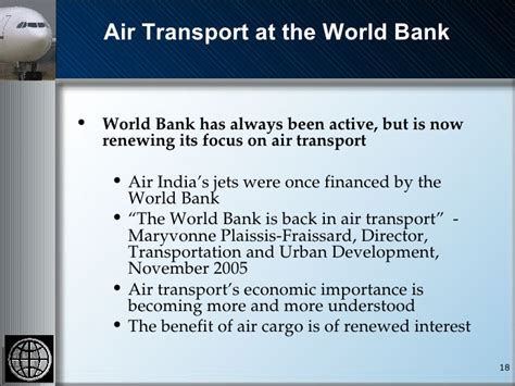 air freight a world bank perspective