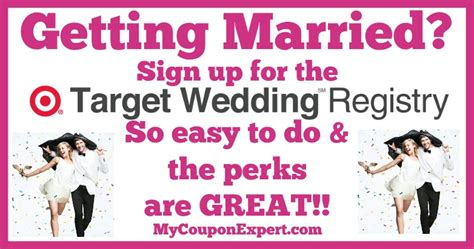 wedding registry perks getting married sign up for the target wedding registry