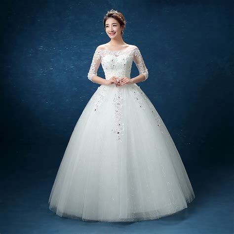 Simple Wedding Gown by Get Cheap Simple Lace Wedding Gowns Aliexpress