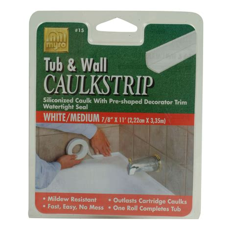 Bathtub Sealer Trim by Homax Products Magic Tub Sealer Trim White Tools