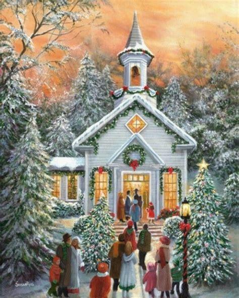 1000 ideas about christmas scenes on pinterest vintage