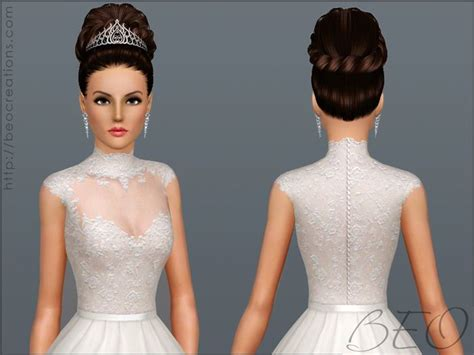 Sims 3 Wedding Hair | 39 best images about sims 3 wedding dresses hairstyles and
