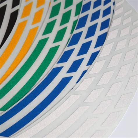 Felgenaufkleber Motorrad Anbringen by Felgenrandaufkleber Gp Style Reflektierend Farben