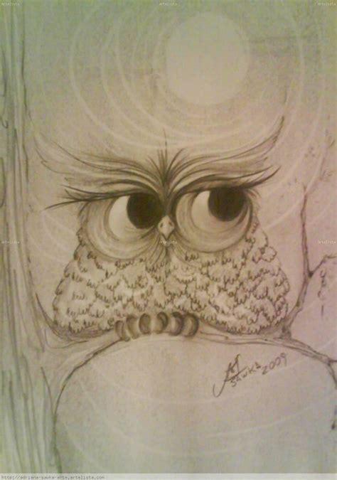 dibujos realistas buho dibujo de buho a lapiz imagui