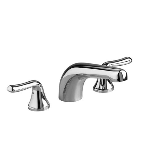 american standard bathtub faucets american standard colony soft lever 2 handle deck mount