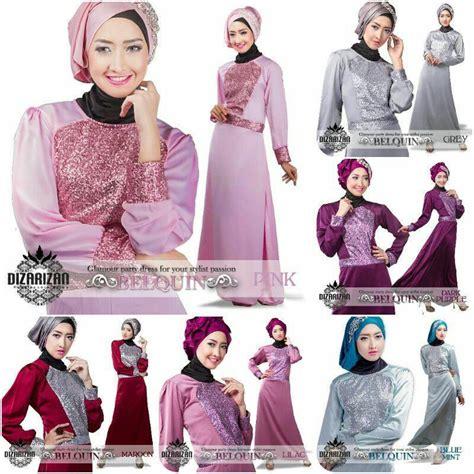 Dress Gamis Jersey Motif Kupu Kupu busana muslim koleksi terbaru