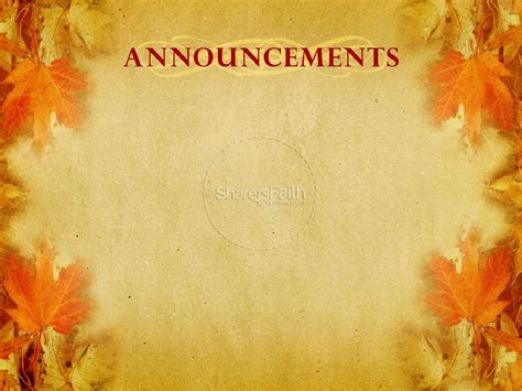 No Fear Powerpoint Presentation Fall Thanksgiving Fall Backgrounds For Powerpoint