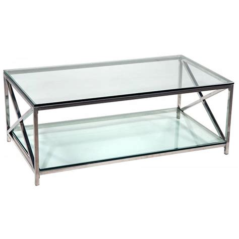 Coffee Tables Ideas Top Glass And Chrome Coffee Table Glass And Coffee Table