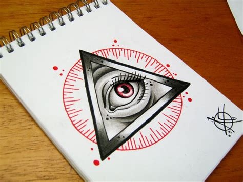 all seeing eye flash design by frosttattoo on deviantart