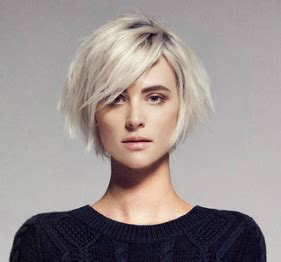 chin length pixie hairstyles nice chin length bob with those long side swept bangs that
