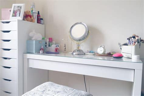 Ikea Hack Malm Dresser by Make Up And Desk Space Hello Deborah