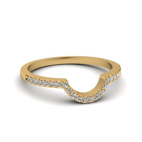 Wedding Bands Curved by Curved Wedding Ring Fascinating Diamonds