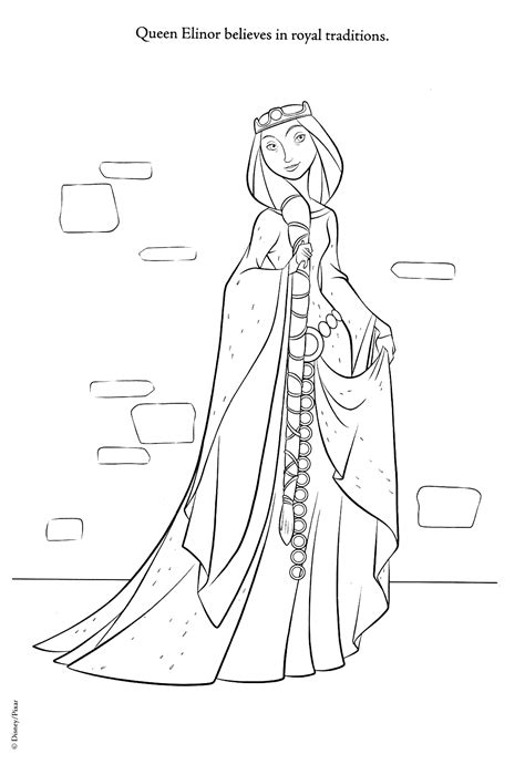 Coloring Pages Brave brave coloring pages brave photo 30941783 fanpop