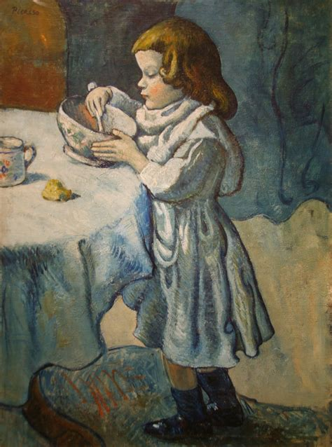 picasso paintings blue boy le gourmet by pablo picasso le gourmet 1901 by pablo