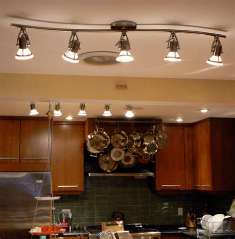 led light design led kitchen light fixture home depot