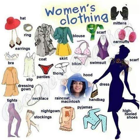 imagenes definition english women s clothing vocabulary english visual