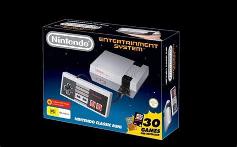 nintendo s nes classic is when will the nintendo classic mini nes be available in australia kotaku australia