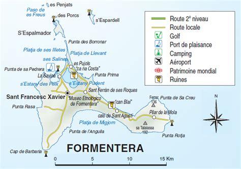0004488962 carte touristique ibiza and infos sur formentera carte arts et voyages