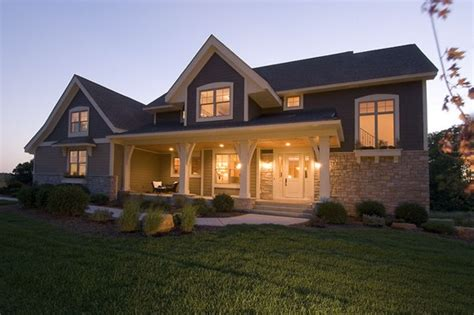 One Story Floor Plans With Two Master Suites Perfect Craftsman House Plan The House Designers