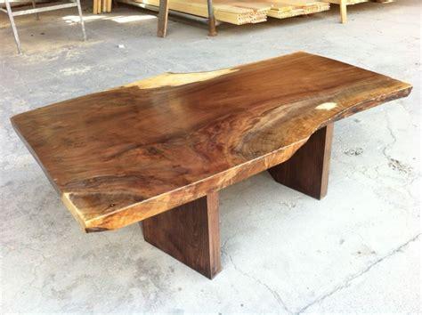 tree stump live edge coffee table made of walnut live edge coffee table stump furniture