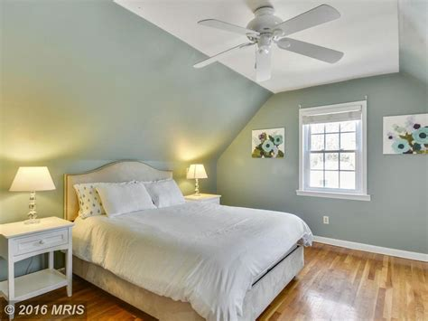 Paint Color Ideas For Dining Room cottage guest bedroom with cathedral ceiling amp hardwood