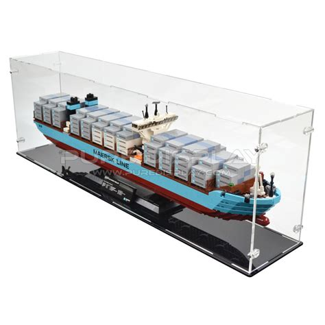 Lego Exclusive Maersk Line E 10241 display for lego 10241 maersk line e