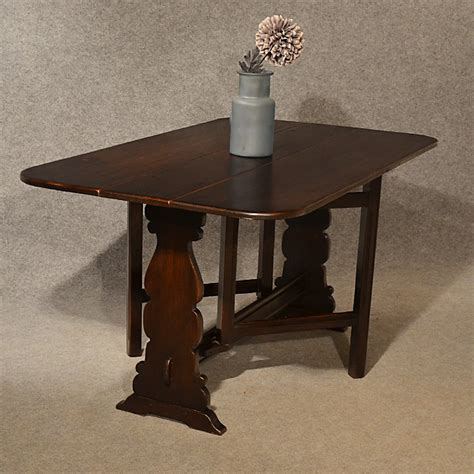 narrow kitchen table antique 5 oak kitchen dining table narrow dropleaf flap