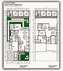 contoh rumah minimalis luas tanah  meter