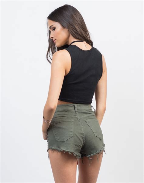 Lace Up Cropped Knit Tank Top open lace up cropped tank ribbed lace up crop tank top