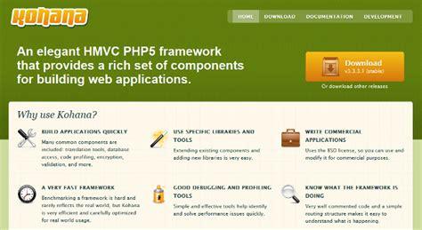 Kohana Template by 12 Best Php Frameworks For Php Developers Dev Code
