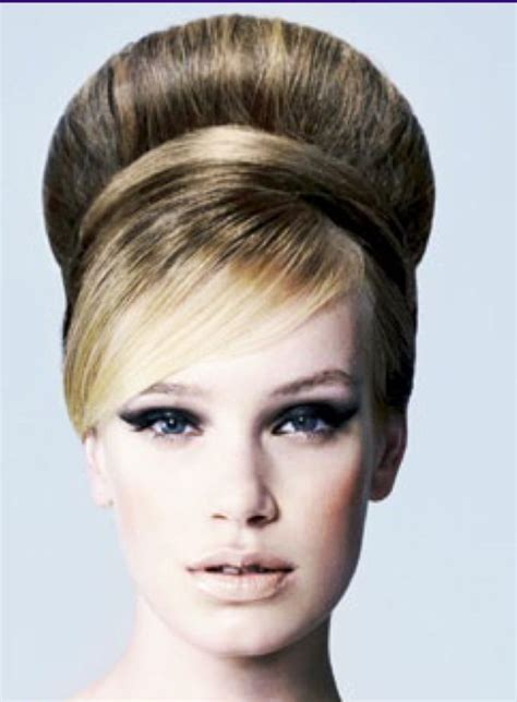 Beehive Hairstyle by Beehive Hairstyle Beehive Bouffant Hairstyles Are In