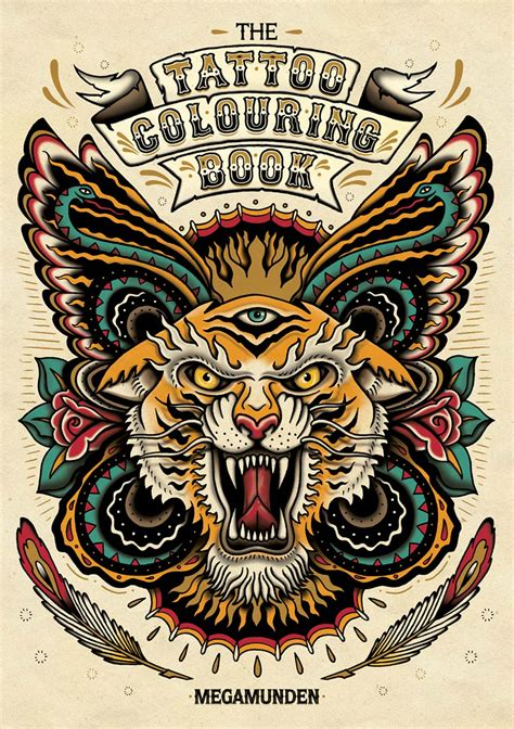 tattoo coloring books media colouring book book