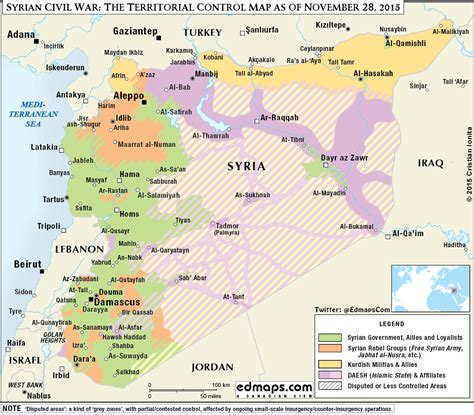 syria on map more maps of the syrian civil war